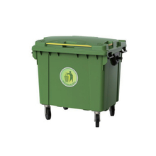 800L High Quality Movable Outdoor Plastic Garbage Container