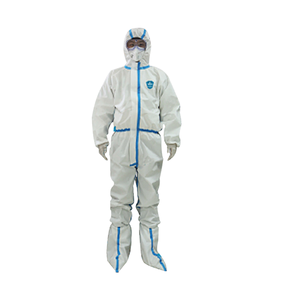 Medical Disposable Protective Clothing with Adhesive Type