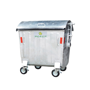 1100L-1 Hot Dip Galvanization Steel Big Dustbin