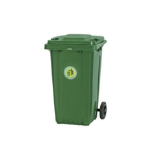 120L Two Wheels Mobile Outdoor Plastic Garbage Container